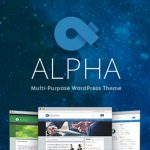 WordPress テーマ 最近の傾向 ALPHA2を使ってみた