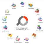 ubuntu 18.0.4 で Windowsアプリ  PhotoScapeを使う